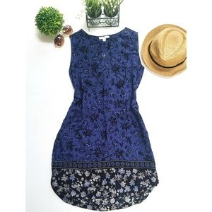 💥Beachlunchlounge Blue Floral Dress